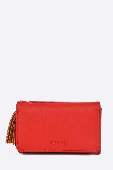 Woman's Portfel damski Indochine czerwony