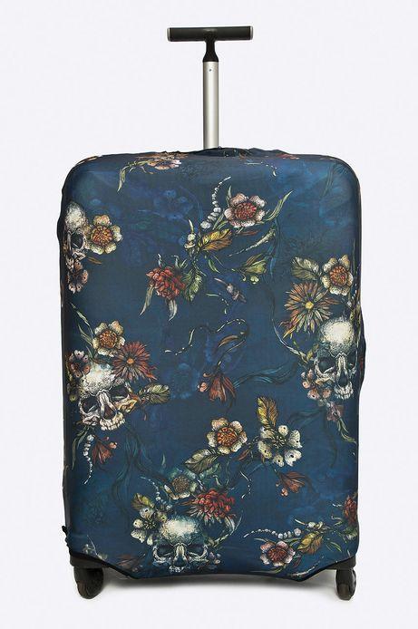Woman's Pokrowiec na walizkę Basic multicolor
