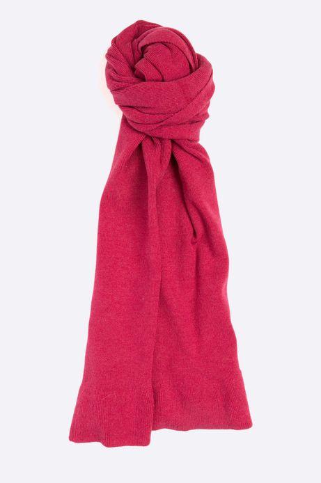 Szalik damski Basic czerwony