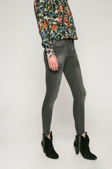 Jeansy damskie  SKINNY Cropped z kolekcji basic