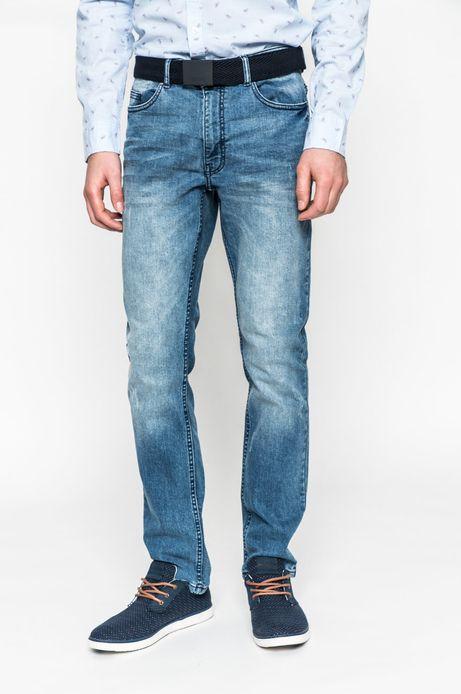 Man's jeansy męskie  slim fit z kolekcji basic