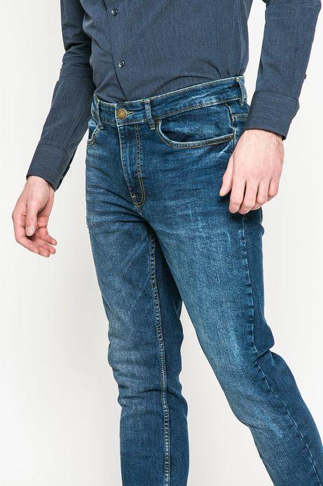 Jeansy męskie  slim fit z kolekcji basic