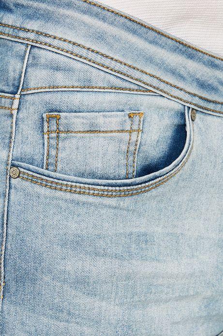 Jeansy męskie Desert Grunge niebieskie
