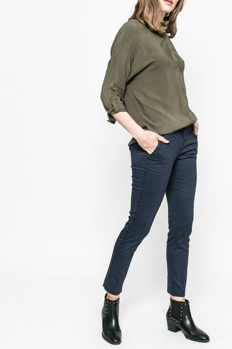 Spodnie damskie Basic granatowe