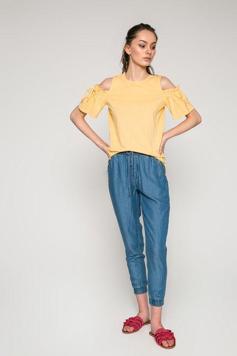 Spodnie damskie Basic niebieskie