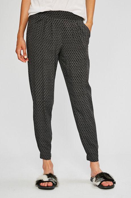 Spodnie damskie Basic czarne