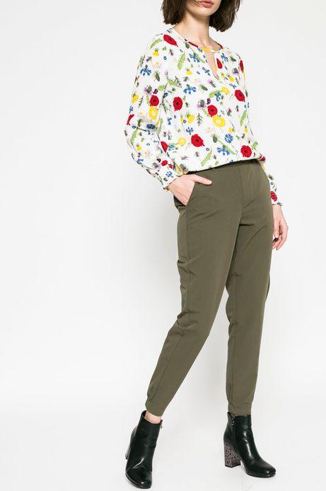 Spodnie damskie Comfort Zone zielone