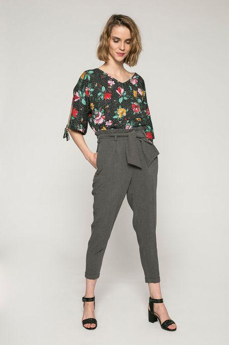 Spodnie damskie Yoga szare