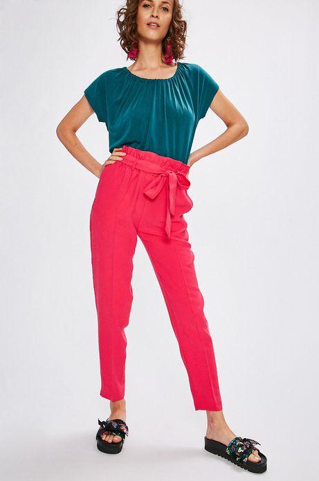 Woman's Spodnie damskie Indochine różowe