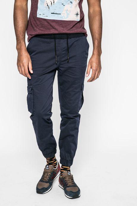 Spodnie męskie Basic granatowe