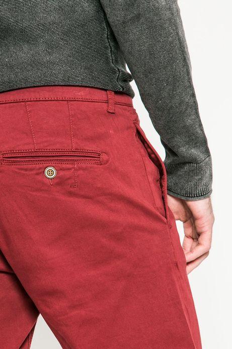 Spodnie męskie Basic kasztanowe