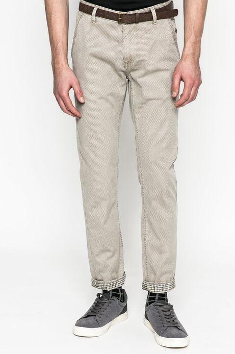 Spodnie męskie Basic szare