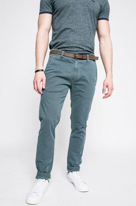 Spodnie męskie Basic zielone