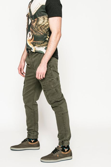 Man's Spodnie Utility militarny