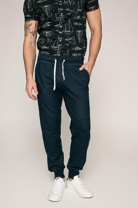 Man's Spodnie męskie Slow Future niebieskie