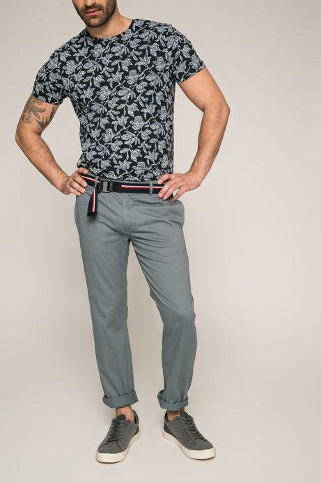 Spodnie męskie Slow Future szare