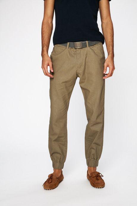 Spodnie męskie Traveller brązowe