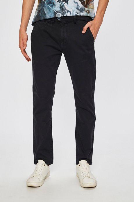 Man's Spodnie Basic granatowe