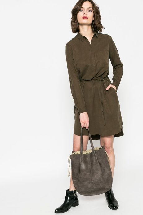 Sukienka damska Comfort Zone zielona