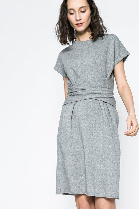 Woman's Sukienka Yoga szara