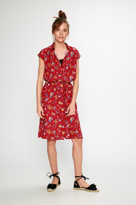 Sukienka damska Summer mix różowa