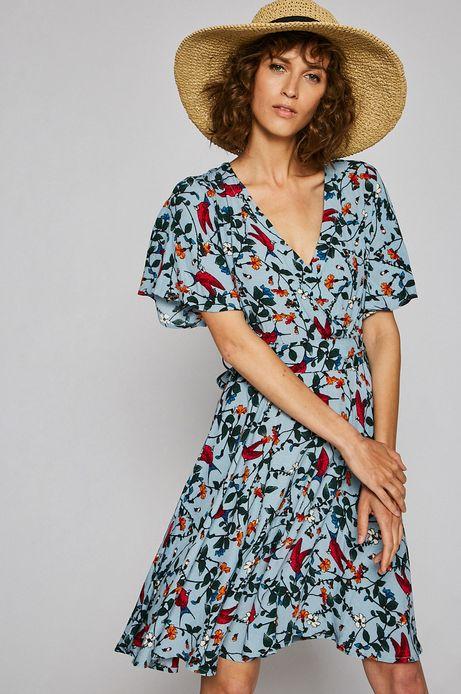 Sukienka damska Indochine turkusowa