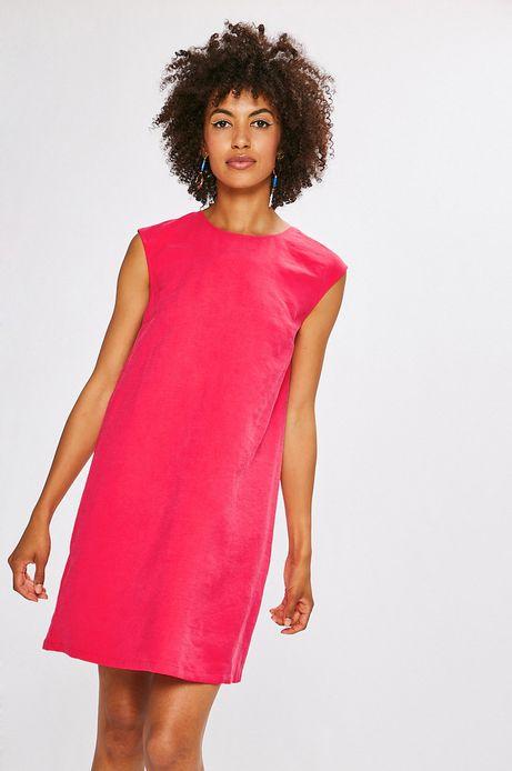 Sukienka damska Indochine różowa