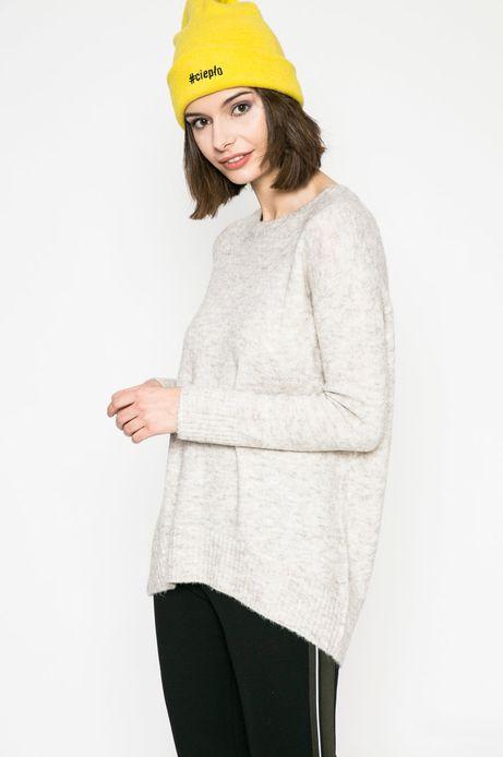 Woman's Sweter damski Basic szary
