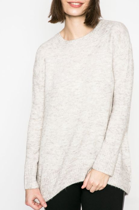 Sweter damski Basic szary