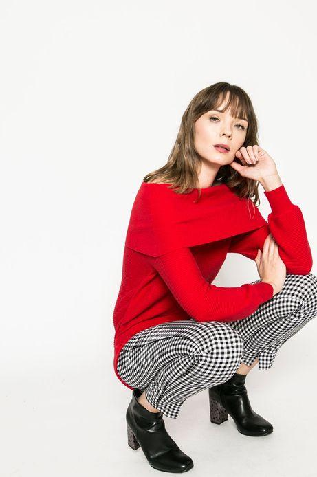 Woman's Sweter damski Basic czerwony