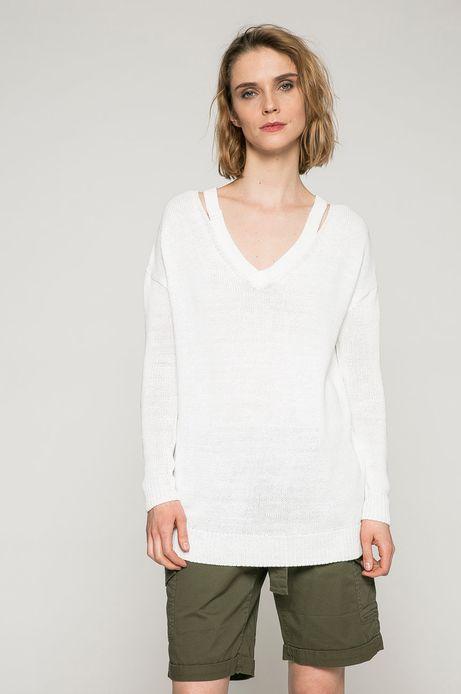 Woman's Sweter damski Basic biały