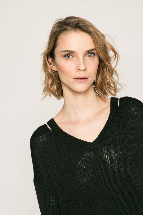 Woman's Sweter damski Basic czarny