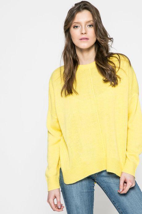 Woman's Sweter damski Comfort Zone żółty