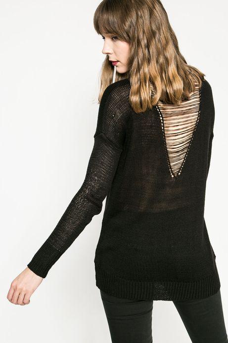 Woman's Sweter damski Girl Power czarna