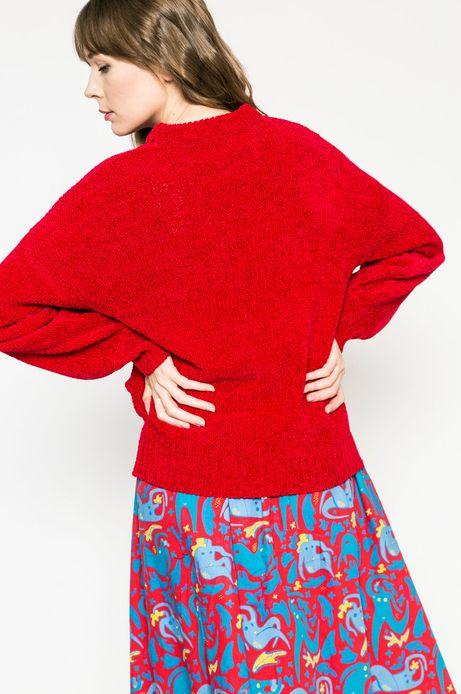 Sweter damski Girl Power czerwony