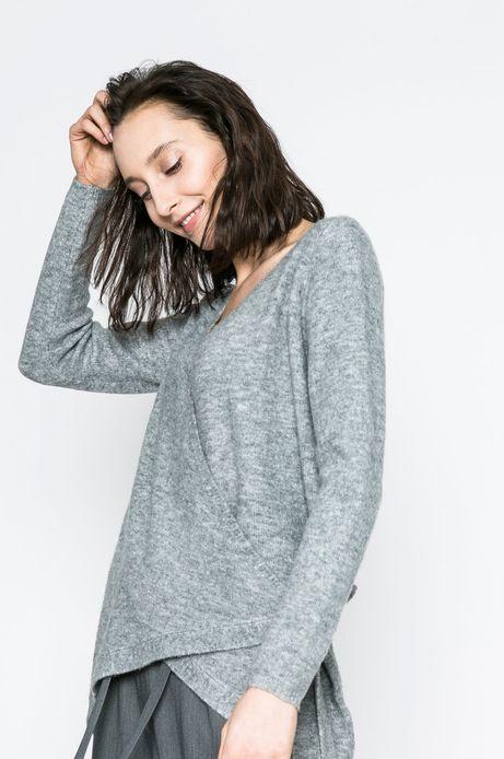 Woman's Sweter damski Yoga szary