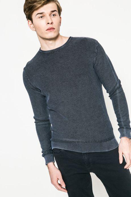 Man's Sweter męski Utility niebieski