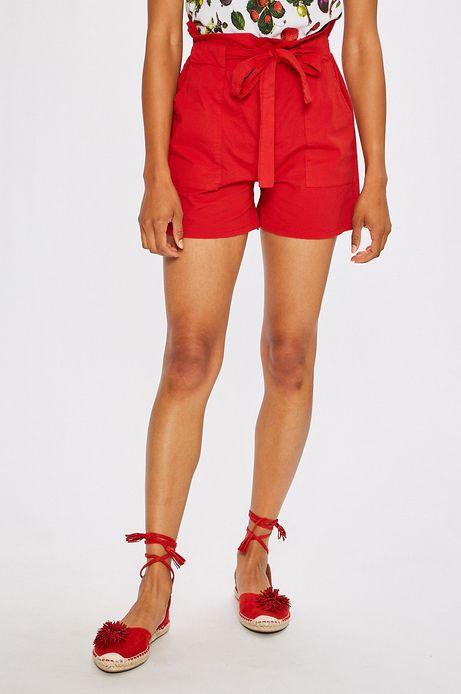 Woman's Szorty Summer mix czerwone