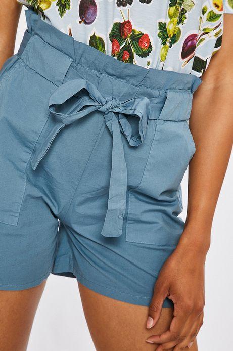 Szorty damskie Summer mix jasnoniebieskie