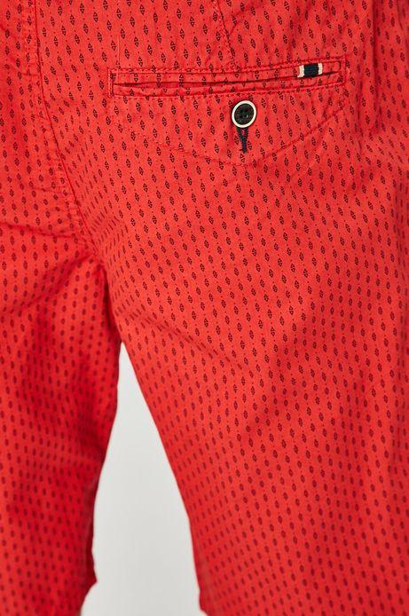 Szorty męskie Basic czerwone