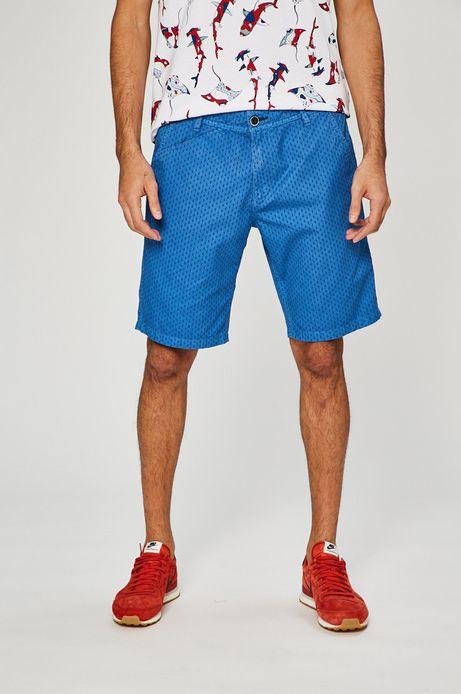 Man's Szorty męskie Basic niebieskie