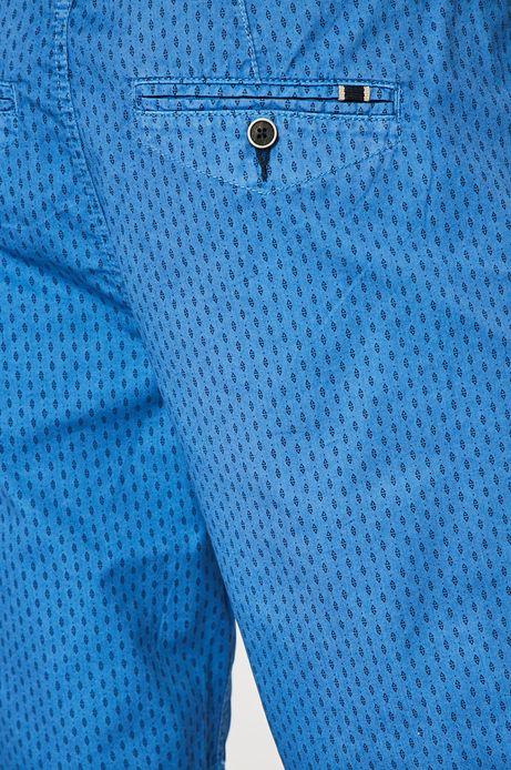 Szorty męskie Basic niebieskie