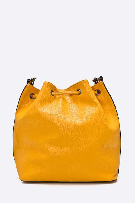 Torebka Basic żółta