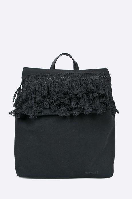 Woman's Plecak Cute and Bleak czarna