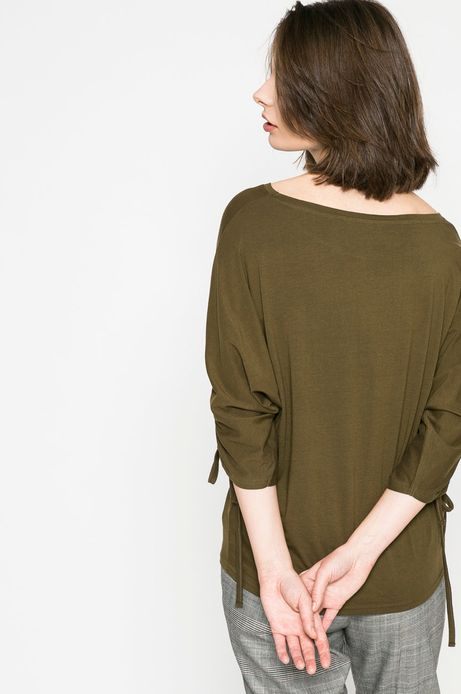 Top damski Basic zielony