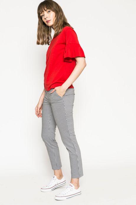 Top damski Basic czerwony