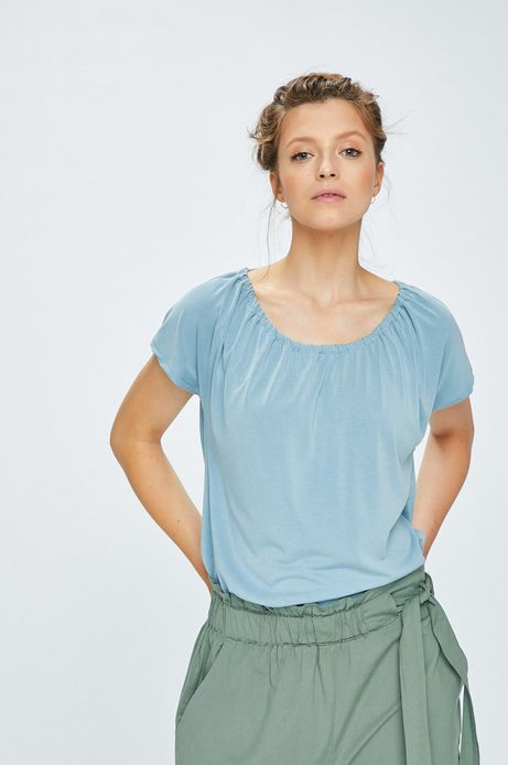 Woman's Top Indochine turkusowy