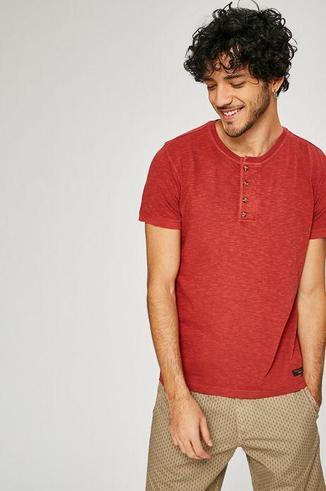 Man's T-shirt męski Basic czerwony