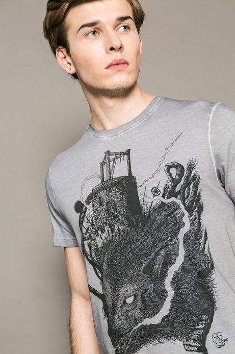 Man's T-shirt X Krzysztof Wroński for Medicine