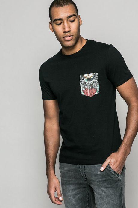T-shirt Krzysztof Wroński for medicine czarny